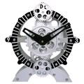 Maples Clock 8.7'' Moving Gear Desktop Clock