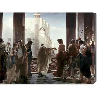 Global Gallery 'Ecce Homo' by Antonio Ciseri Painting Print on Wrapped Canvas