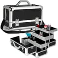 Seya Professional 3-Tier Makeup Case; Black