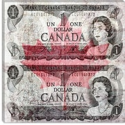 iCanvas One Canadian Dollar 6 Graphic Art on Canvas; 37'' H x 37'' W x 0.75'' D