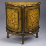 AA Importing Half Round Cabinet