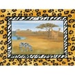 Art 4 Kids African Safari Canvas Art; Contemporary Mount with Beveled Edge