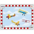 Art 4 Kids Air Circus Canvas Art; Contemporary Mount with Beveled Edge