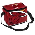 Forever Collectibles NBA Zipper Lunch Bag; Miami Heat