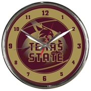 Wincraft NCAA 12.75'' Wall Clock; Texas State University