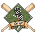 Wincraft MLB High Def Plaque Wall Clock; Chicago White Sox