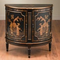 AA Importing Half Round Console Cabinet