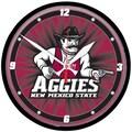 Wincraft Collegiate 12.75'' NCAA Wall Clock; New Mexico State