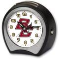 Cottage Garden Collegiate Alarm Table Clock; Boston College