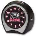 Cottage Garden Collegiate Alarm Table Clock; University of Alabama