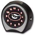 Cottage Garden Collegiate Alarm Table Clock; University of Georgia