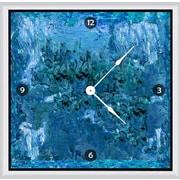 Green Leaf Art View 16'' Art Wall Clock