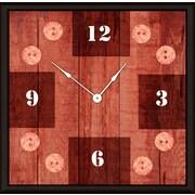 Green Leaf Art Graft 11'' Art Wall Clock