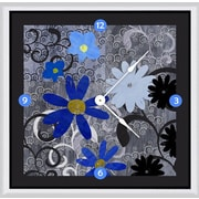 Green Leaf Art Touch 20'' Art Wall Clock