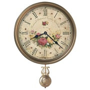 Howard Miller Moment In Time Savannah Botanical VII Quartz 15'' Wall Clock