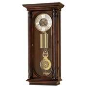 Howard Miller Chiming Key-Wound Stevenson Wall Clock