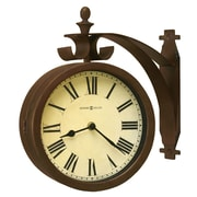 Howard Miller Designer Choice O'Brien Double Dial 12.25'' Wall Clock