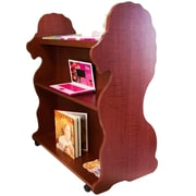 Ace Baby Furniture Lion Mobile Double Sided 41.5'' Bookcase; Cherry