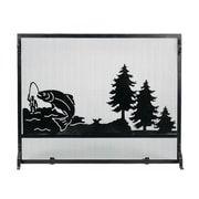 ACHLA Big Fish Fireplace Screen