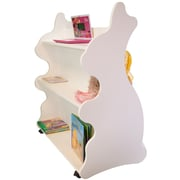 Ace Baby Furniture Rabbit Mobile Double Sided 41.5'' Bookcase; White