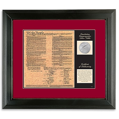 American Coin Treasure Birth of a Nation Constitution Framed Memorabilia
