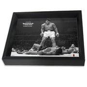 Pyramid America Muhammad Ali Versus Sonny Liston Photographic Print Shadow Box