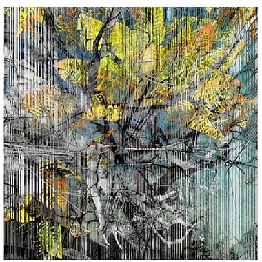 Carlyle Fine Art Abstract Strie by Jordan Carlyle Graphic Art; 48''x 48''
