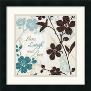 Amanti Art 'Botanical Touch Quote II' by Lisa Audit Framed Painting Print