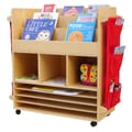A+ Child Supply Big 44'' Book Cart
