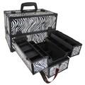 Seya Professional Makeup Case; Zebra