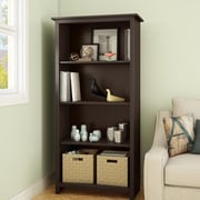 South Shore Mill 4 Shelf 59.5'' Bookcase; Chocolate