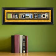 JDS Personalized Gifts Personalized Gift College Campus Framed Memorabilia; Georgia Tech