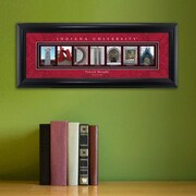 JDS Personalized Gifts Personalized Gift College Campus Framed Memorabilia; Indiana
