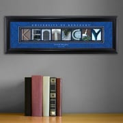 JDS Personalized Gifts Personalized Gift College Campus Framed Memorabilia; Kentucky