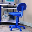 InRoom Designs Kid's Computer Desk Chair; Blue