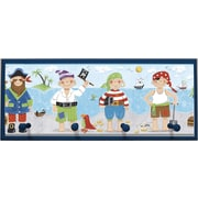 Illumalite Designs Pirates Framed Painting Print with Pegs