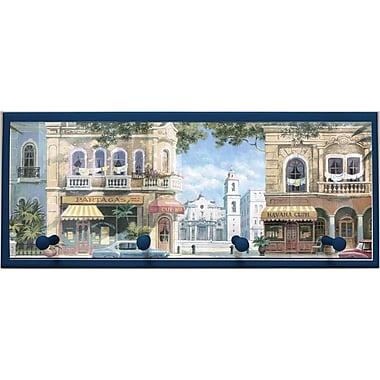 Illumalite Designs Havana Street Scene w/ Pegs Painting Print on Plaque