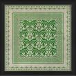 Blueprint Artwork Tile 10 Framed Graphic Art; Green