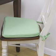 Carolina Cottage Tailor Made Napolean Style Chair Pad (Set of 2); Natural Duck