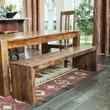 Timbergirl Emmerson Solid Seesham Wood Kitchen Bench