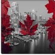 iCanvasArt Downtown Vancouver, Canada #2 Graphic Art on Canvas; 26'' H x 26'' W x 0.75'' D