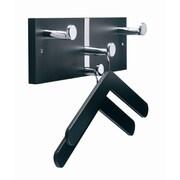 Magnuson Group Executive Coat Rack; Black