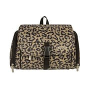Travelon Hanging Toiletry Kit; Leopard