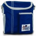 SailorBags Lunch Bag; Nautical Blue with Grey Trim