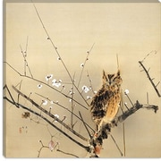 iCanvas Early Plum Blossoms by Nishimura Goun Painting Print on Canvas; 12'' H x 12'' W x 1.5'' D