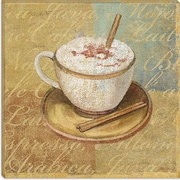 iCanvas ''Coffee Blend IV'' by John Zaccheo Painting Print on Canvas; 18'' H x 18'' W x 0.75'' D