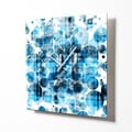 HangTime Designs 15'' Blue Bubbles Wall Clock