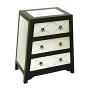 Wayborn Helene 3 Drawer Angled Chest