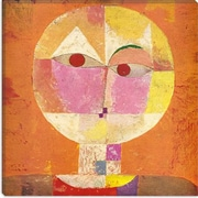 iCanvas 'Senecio' by Paul Klee Painting Print on Original Painting Wrapped Canvas