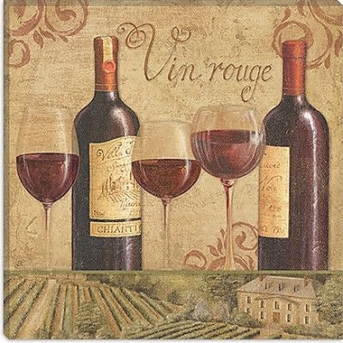 iCanvas ''Vineyard Flavor II'' by Daphne Brissonnet Painting Print on Wrapped Canvas